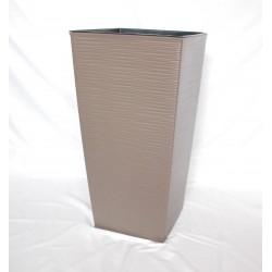 Doniczka finezja dłuto z wkładem 30x30,  H 57cm FRAPPE