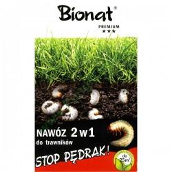 BIONAT Stop pędrak 2w1 nawóz do trawników 0,9 kg