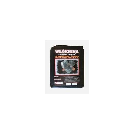 Agrowłóknina  czarna 50g/m2 - 1,6x10m