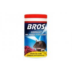 BROS trutka na myszy i szczury w granulkach 250g