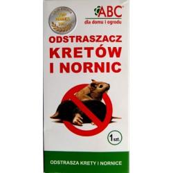 Odstraszacz dzwiękowy na krety i nornice Abc