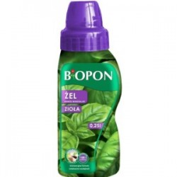 Biopon nawóz do ziół w żelu 250 ml