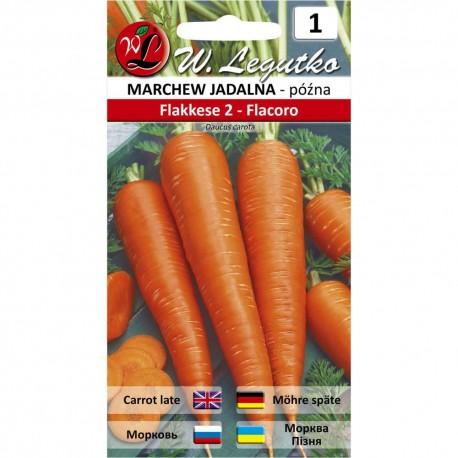 Marchew jadalna późna Flakkese 2 - Flacoro
