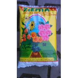 Ziemia do kwiatów doniczkowych 5 L