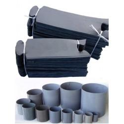 Pierścienie spinane opaski 6x7 cm- 200 szt