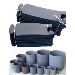 Pierścienie spinane opaski 7x8 cm- 200 szt