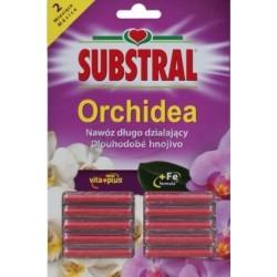 SUBSTRAL orchidea pałeczki nawozowe do storczyków 10 szt