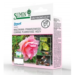 SUMIN Domark 100 ec na mączniaka i czarną plamistość róży 10 ml
