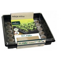 Vilmorin Jiffy mini szklarenka z 36 krążkami torfowymi