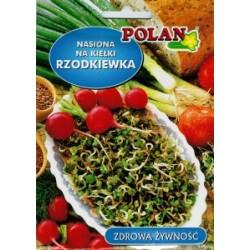 POLAN Rzodkiewka nasiona na kiełki 20 g