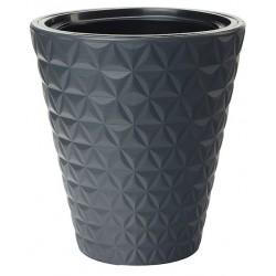 FORM-PLASTIC Doniczka Diament H32,5 FI30 cm  ANTRACYT