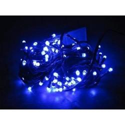 Lampki choinkowe 100 led niebieskie