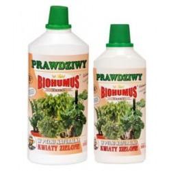 Biohumus do kwiatów zielonych nawóz ekologiczny 0,5 l