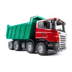 BRUDER 03550 Scania wywrotka