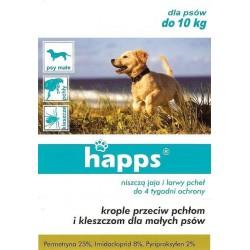 Krople przeciw pchłom dla psa do 10kg