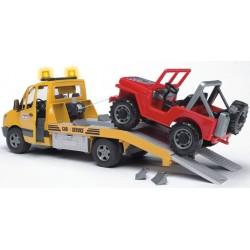 BRUDER 02535 Sprinter pomoc drogowa i Jeep