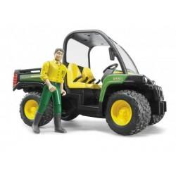 BRUDER 02490 Wywrotka John Deere Gator z kierowcą