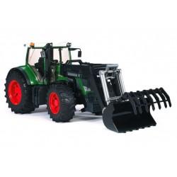 BRUDER 03041 Traktor Fendt 936 Vario z ładowaczem