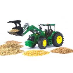 BRUDER 03051 traktor John Deere 7930 z ładowaczem